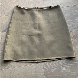Theory khaki skirt